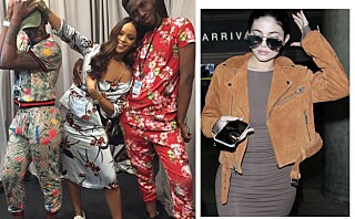 Rihanna og Kylie møtte opp i Skandinavisk design