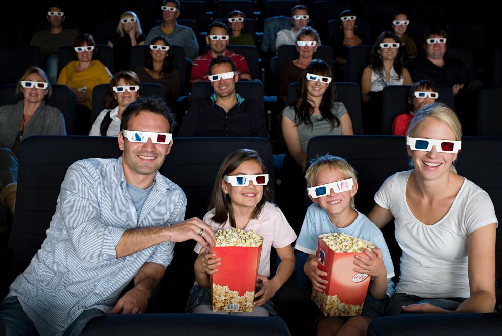 KOS: Kino skal være en hyggelig aktivitet, men det er det ikke alltid for de som må rydde.. Foto: Image Source