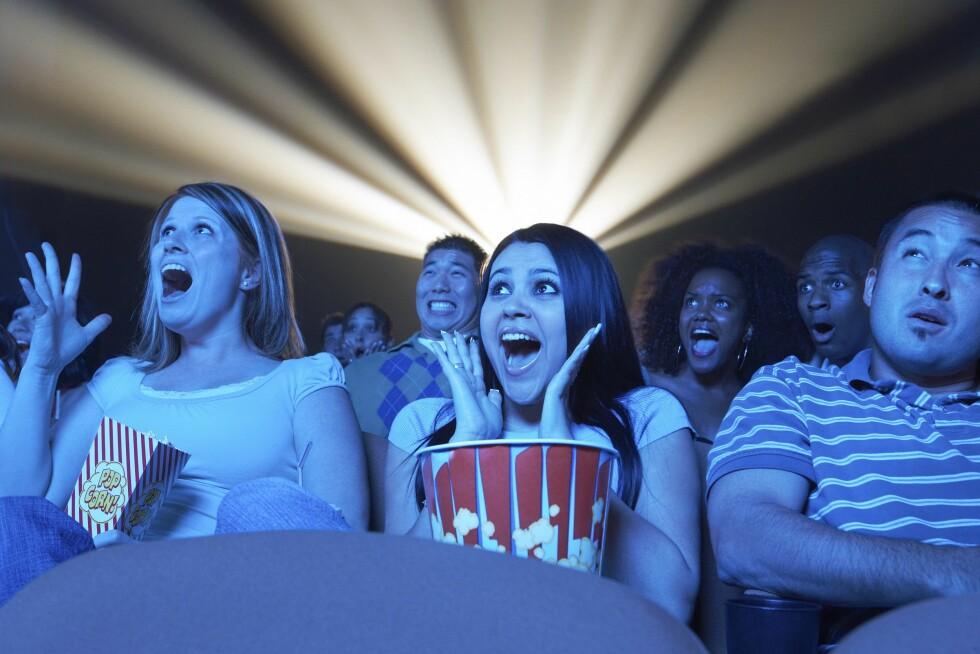 EKKELT: Mange legger igjen mye rot på kino, men vi ante ikke at det kunne bli så ekkelt.  Foto: DPA