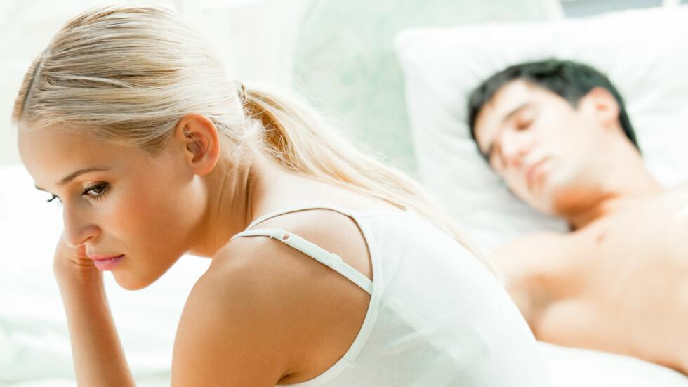 FØLE SKAM ETTER SEX: Å kjenne på en følelse av skam etter sex, kanskje uten å forstå hvorfor selv, er nok ikke uvanlig, mener ekspertene, og kan kommer av mye. Går det ikke over bør du snakke med noen om problemet.  Foto: Shutterstock / vgstudio