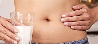 Laktoseintoleranse: Her er de vanligste symptomene