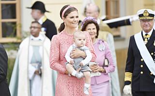 Kronprinsesse Victoria stilte i et superkledelig dåpsantrekk -  til over 40 000 kroner!