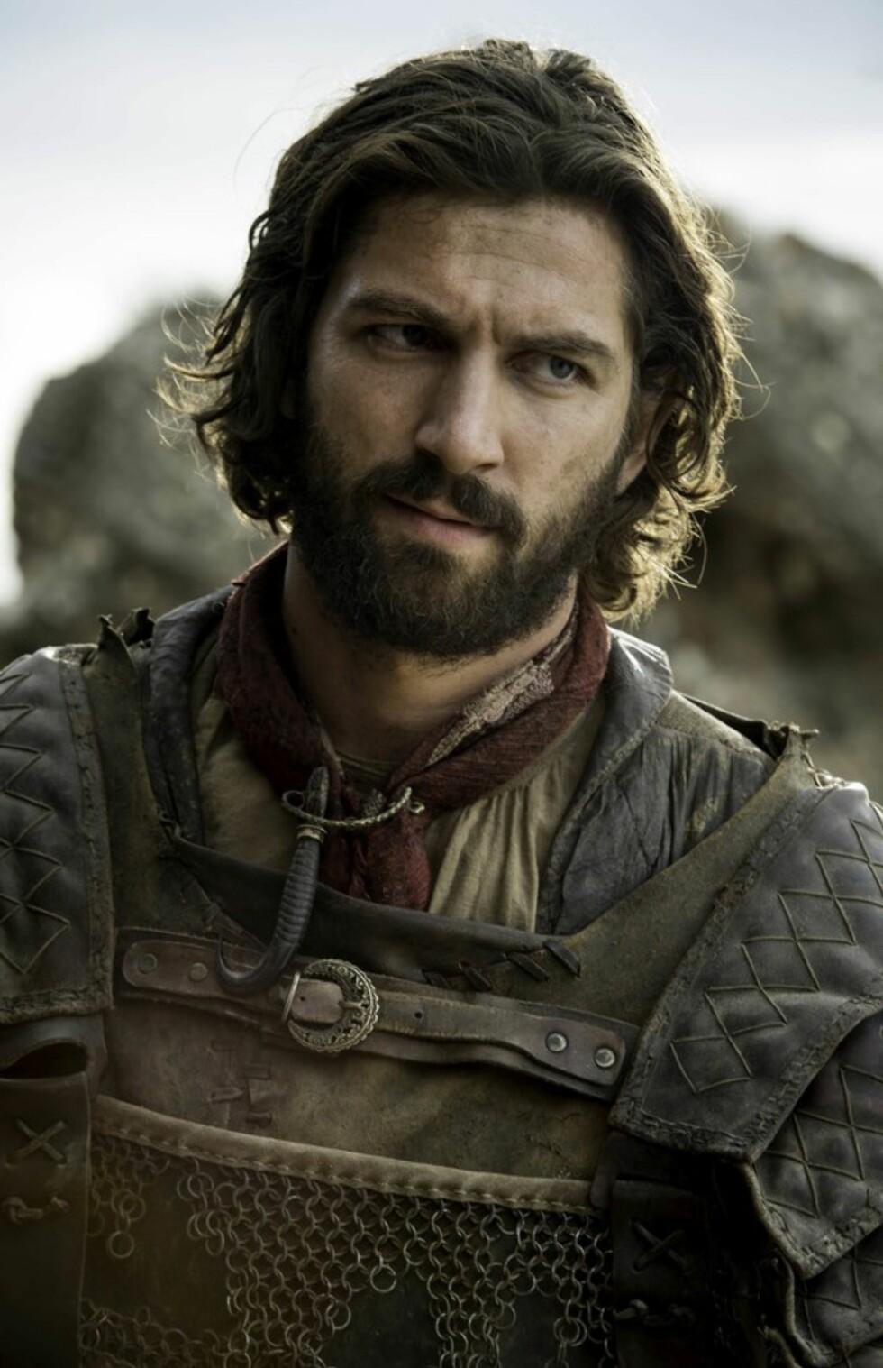 Daario Naharis Foto: Skjermdump «Game of Thrones»