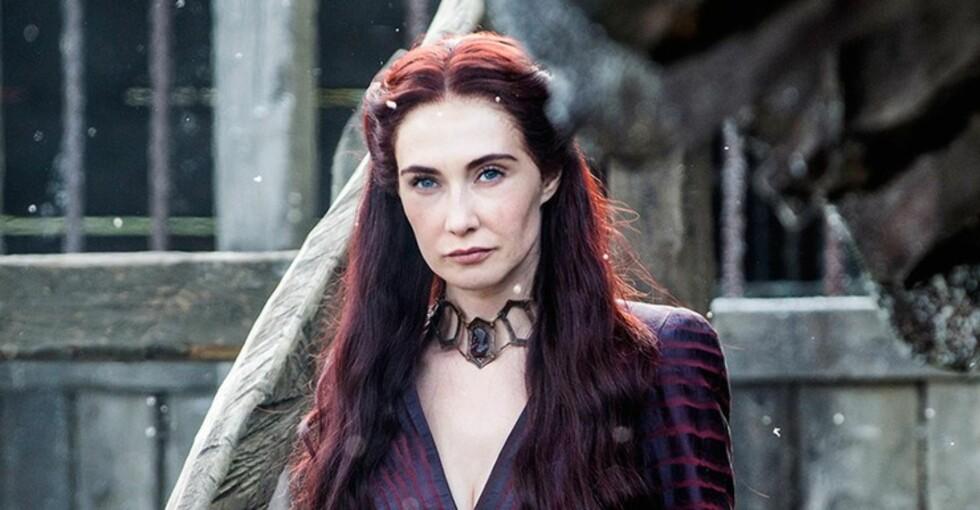 Lady Melisandre Foto: Skjermdump «Game of Thrones»