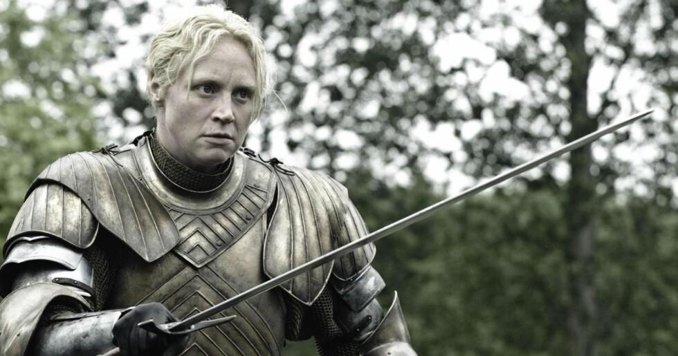 Brienne of Tarth Foto: Skjermdump «Game of Thrones»