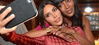 Slik tar Kardashian-klanen strøkne selfies