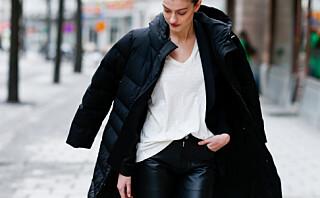 Her er jakken med innebygget varme