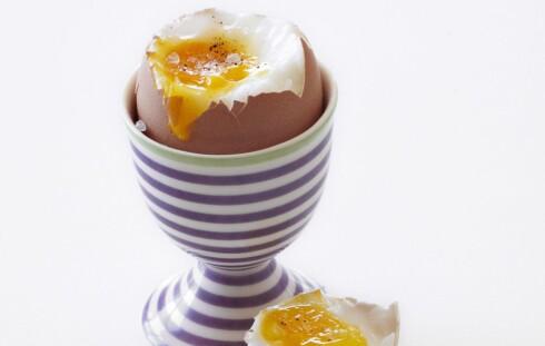 GIR DEG VITAMIN D: Eggeplommer er en kilde til vitamin D. En god grunn til å ikke droppe frokosteggene!