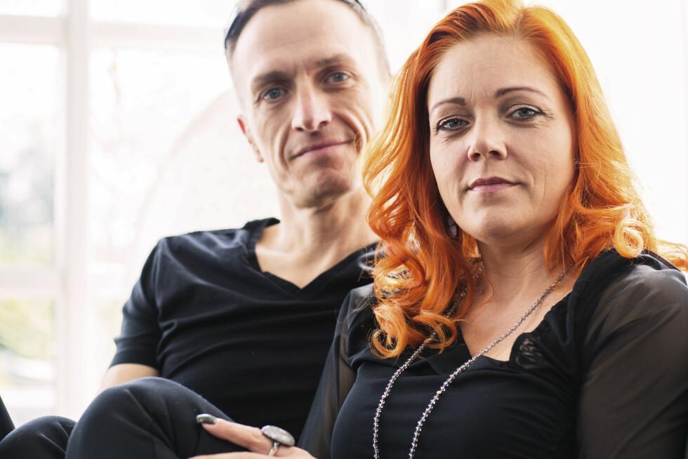 ULLA OG BRIAN: Paret hadde ikke hatt sex på ett år. Så oppdaget de tantra!  Foto: All Over Press Denmark