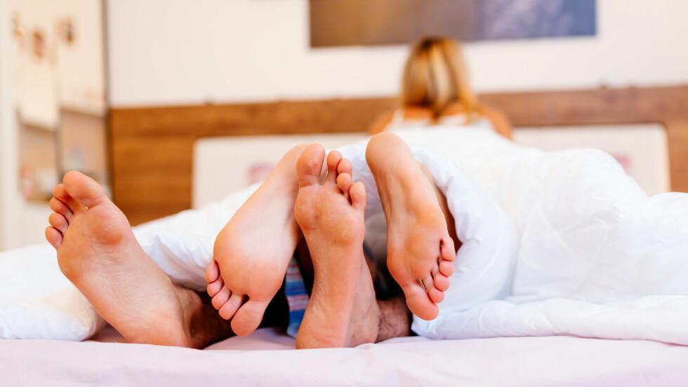 HVA ER DU MEST REDD FOR?: En ny undersøkelse har funnet ut av hva våre største sexfrykter er! Foto: Shutterstock / Andor Bujdoso