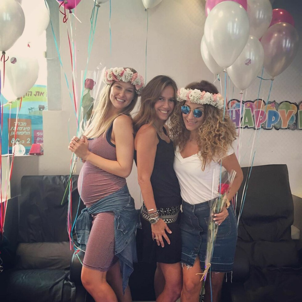 """Bar Refaeli releases a photo on Instagram with the following caption: """"The never ending birthday. \nThe one year I decide not to celebrate, makes everyone celebrate for me. I think I'll adopt the approach for next year ;) @ornaelo @sandrarosen31 thank you \ud83d\ude4f\ud83c\udffc"""". Photo Credit: Instagram *** No USA Distribution *** For Editorial Use Only *** Not to be Published in Books or Photo Books ***  Please note: Fees charged by the agency are for the agency's services only, and do not, nor are they intended to, convey to the user any ownership of Copyright or License in the material. The agency does not claim any ownership including but not limited to Copyright or License in the attached material. By publishing this material you expressly agree to indemnify and to hold the agency and its directors, shareholders and employees harmless from any loss, claims, damages, demands, expenses (including legal fees), or any causes of action or allegation against the agency arising out of or connected in any way Foto: SipaUSA"""