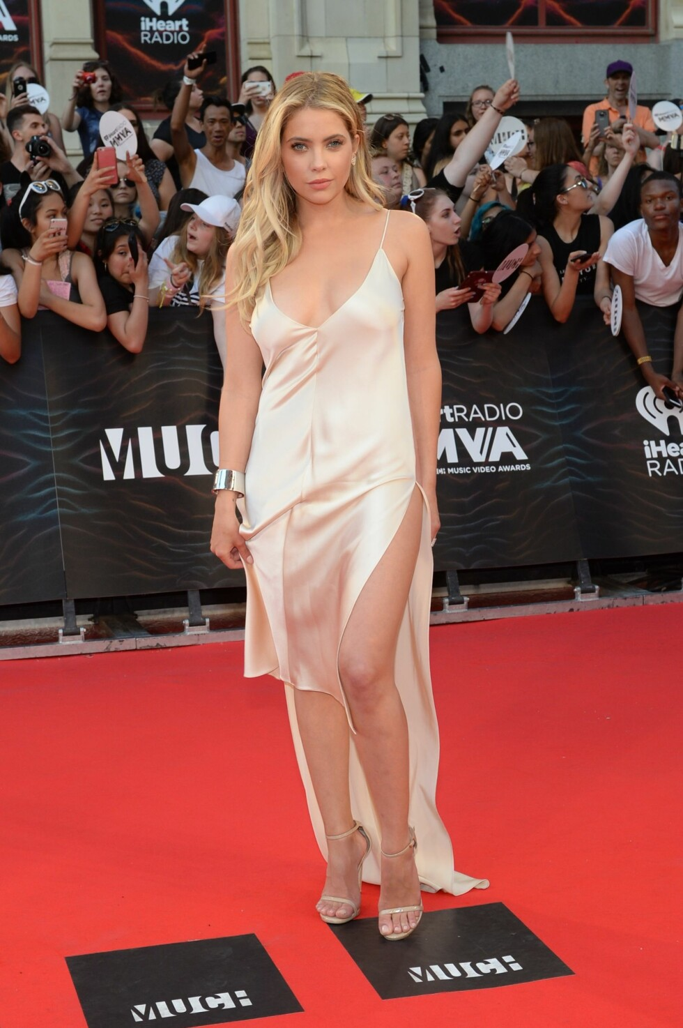 <strong>MMVA 2016:</strong> Ashley Benson. Foto: Afp