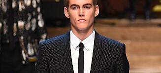 Cindy Crawfords sønn på catwalken for Dolce & Gabbana