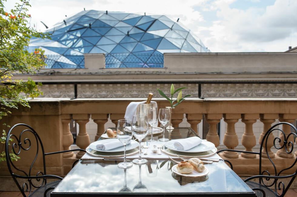 <strong>GRAND HOTEL PLAZA:</strong> Er et kjent hotell i Roma som dukker opp i en rekke Hollywood-filmer.  Foto: Grand Hotel Plaza