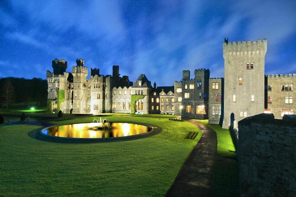 <strong>ASHFORD CASTLE:</strong> Er stedet for deg som ønsker å føle deg litt kongelig.  Foto: Ashford Castle