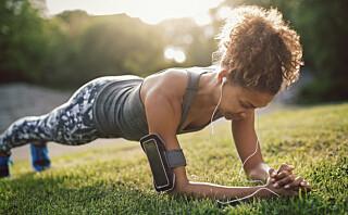 3 øvelser som strammer opp magen