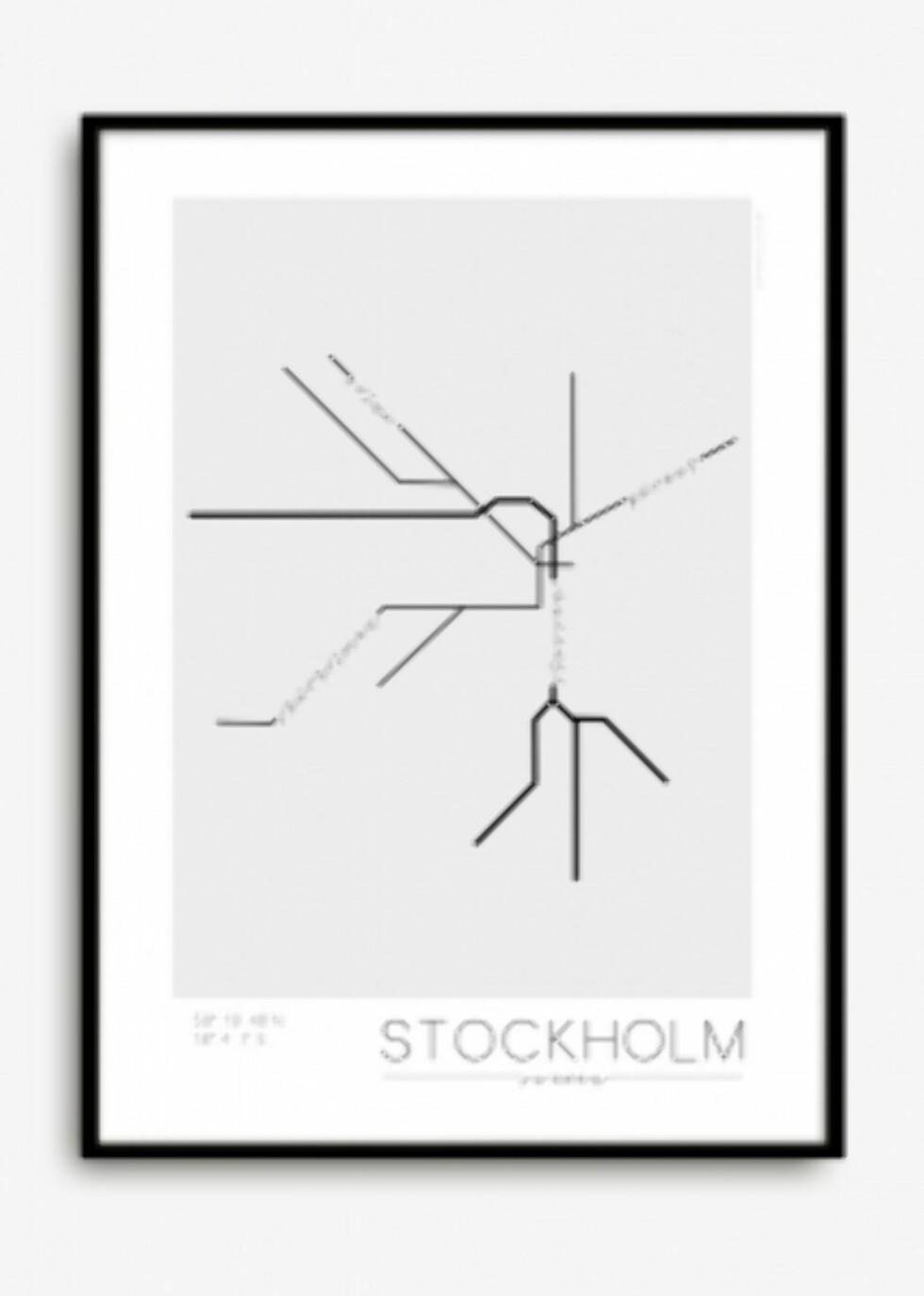 Stockholm Underground-plakat fra Woroom.no | kr 200 | https://track.adtraction.com/t/t?a=1124130996&as=1115634940&t=2&tk=1&url=http://www.woroom.no/products/stockholm-underground-plakat