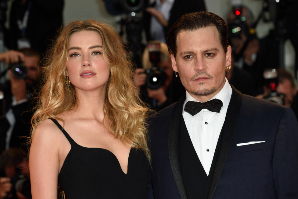 BRUDD: Etter 15 måneders ekteskap skal de nå skilles, og Amber Heard hevder nå at Depp har mishandlet henne gjennom hele forholdet. Foto: Abaca