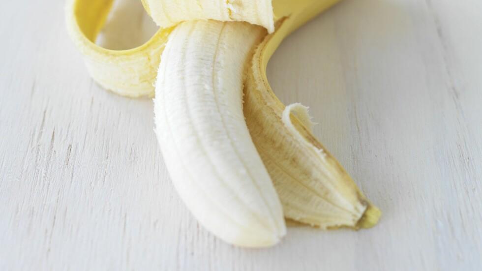 BANAN ER BRA: I moderate mengder er banan en super frukt å spise, og inneholder flust av knallsunne næringsstoffer.  Foto: Bon Appetit