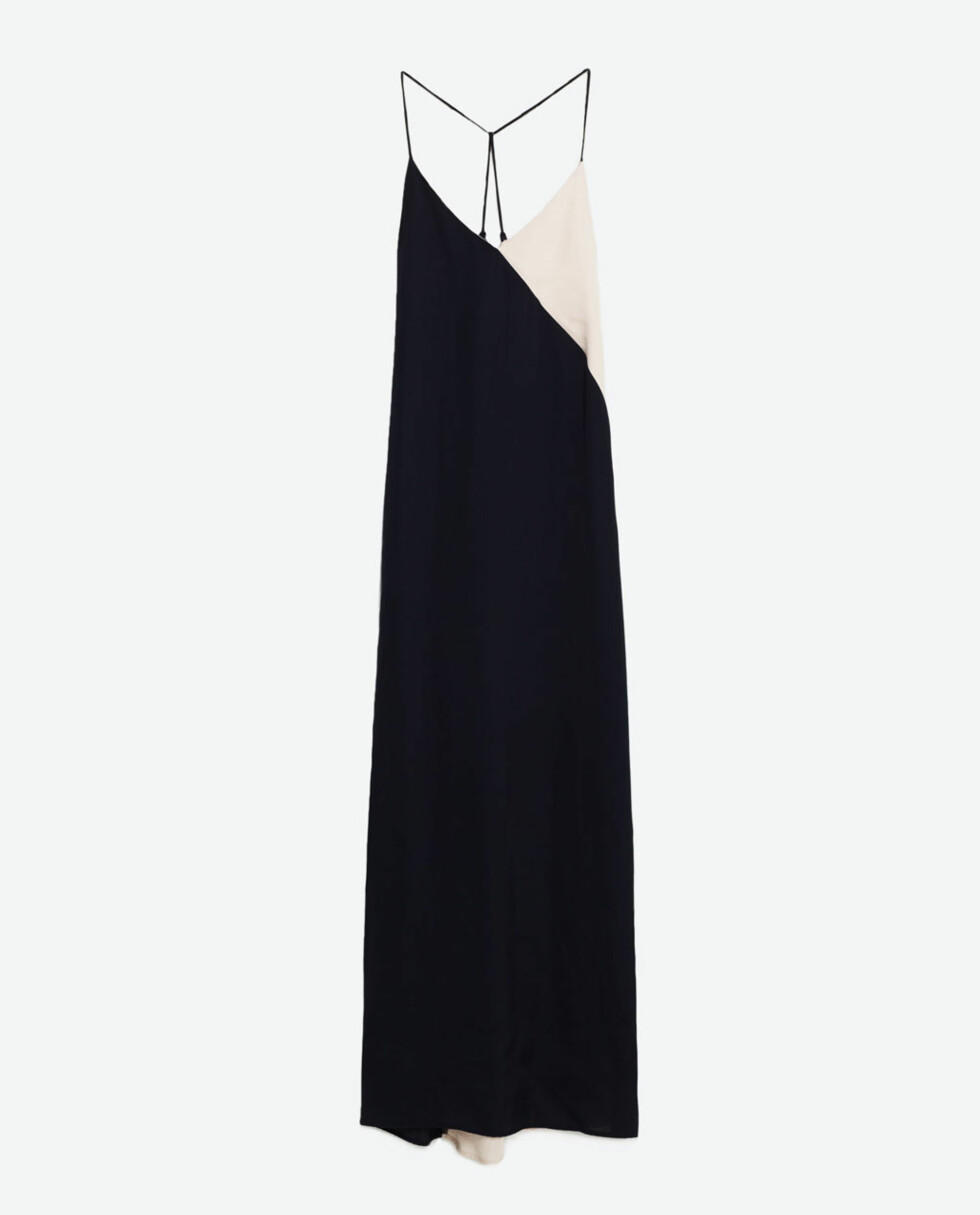 Maxikjole fra Zara, kr 699. Foto: Produsenten