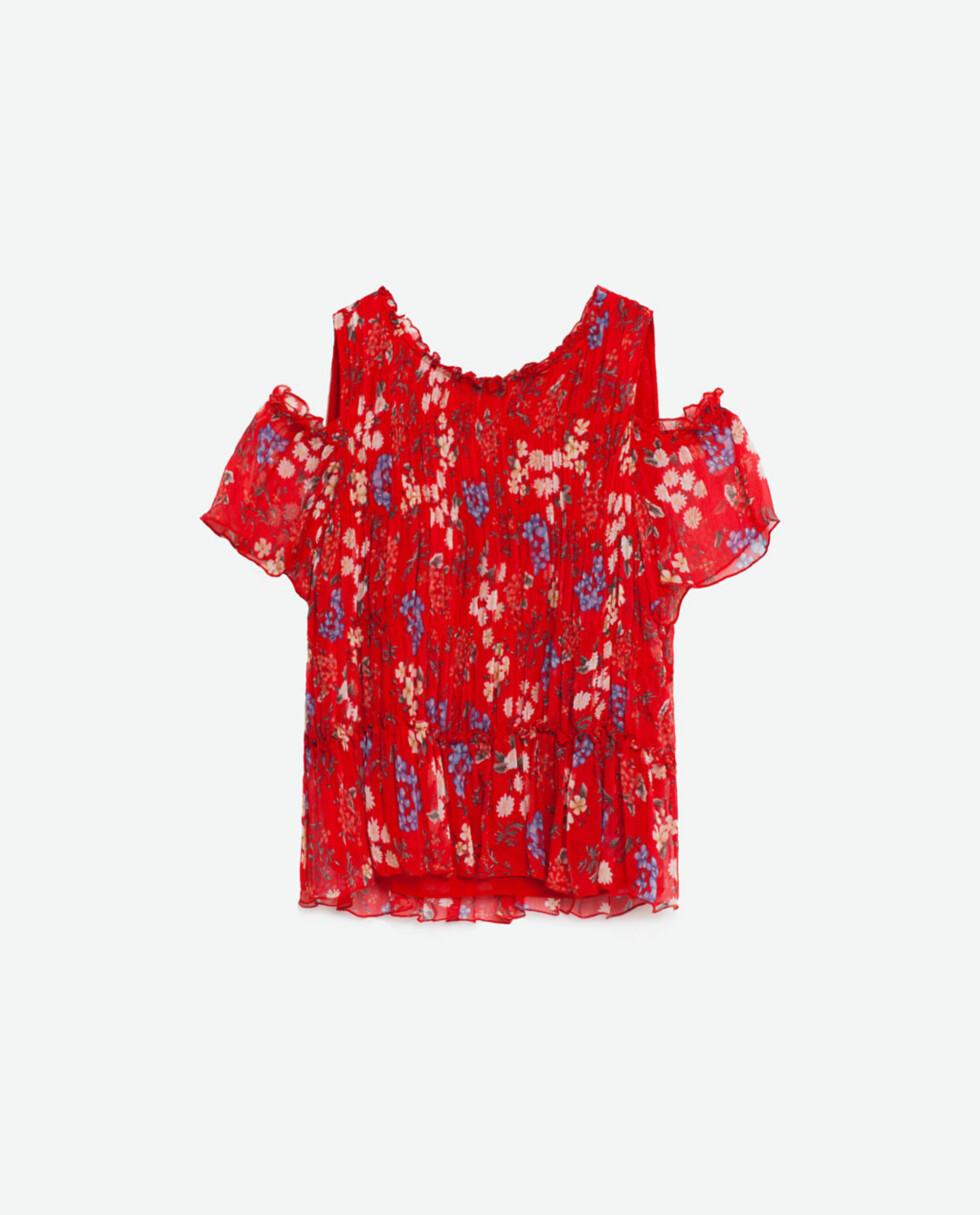Topp fra Zara, kr 299. Foto: Produsenten