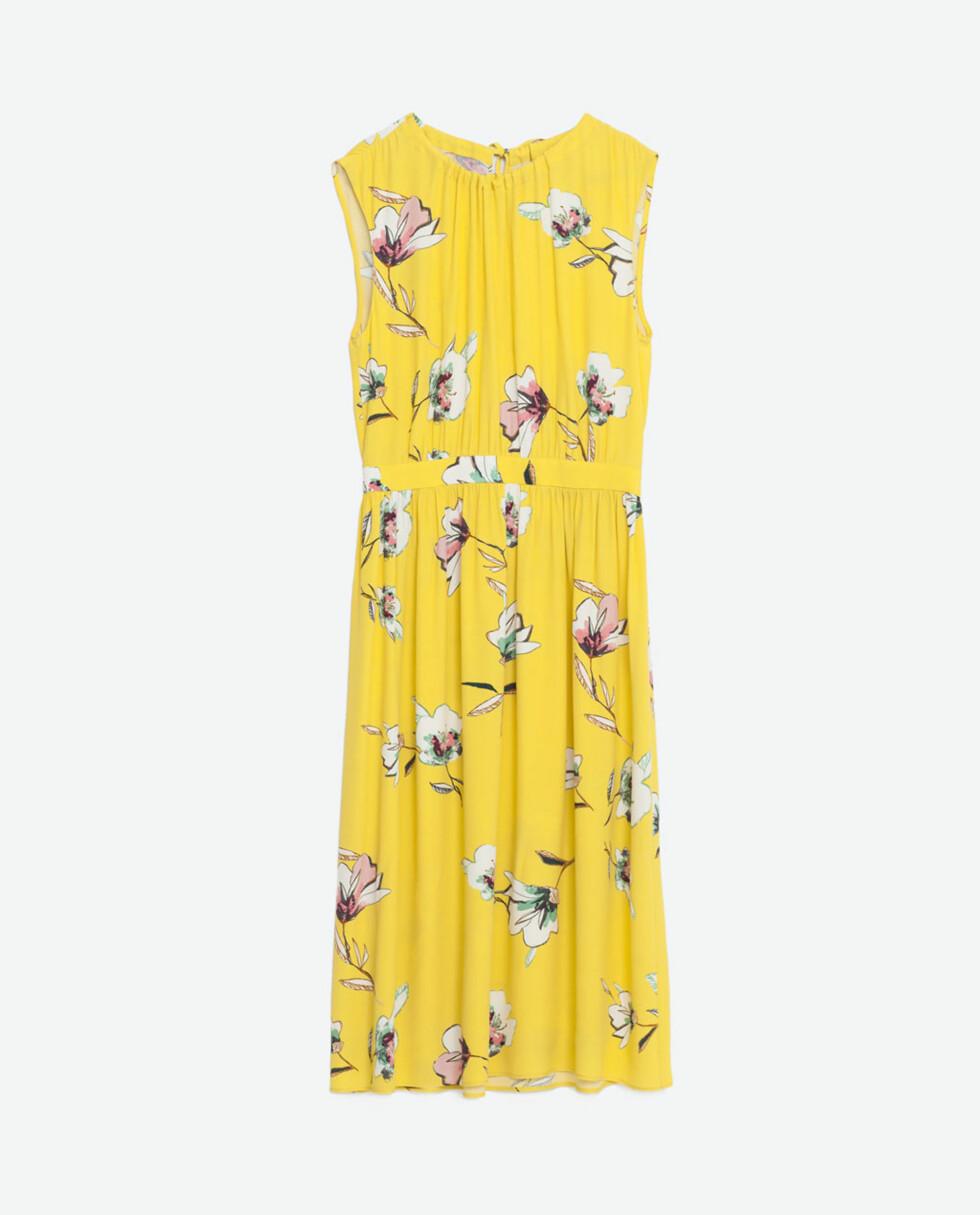 Kjole fra Zara, kr 559. Foto: Produsenten