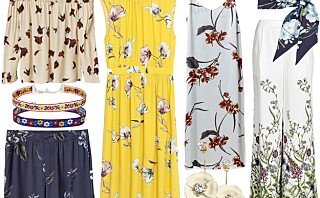 13 blomsterplagg som frisker opp garderoben på 1-2-3
