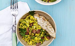#Kyllingtorsdag: Krydret rispilaff med kylling og fennikel
