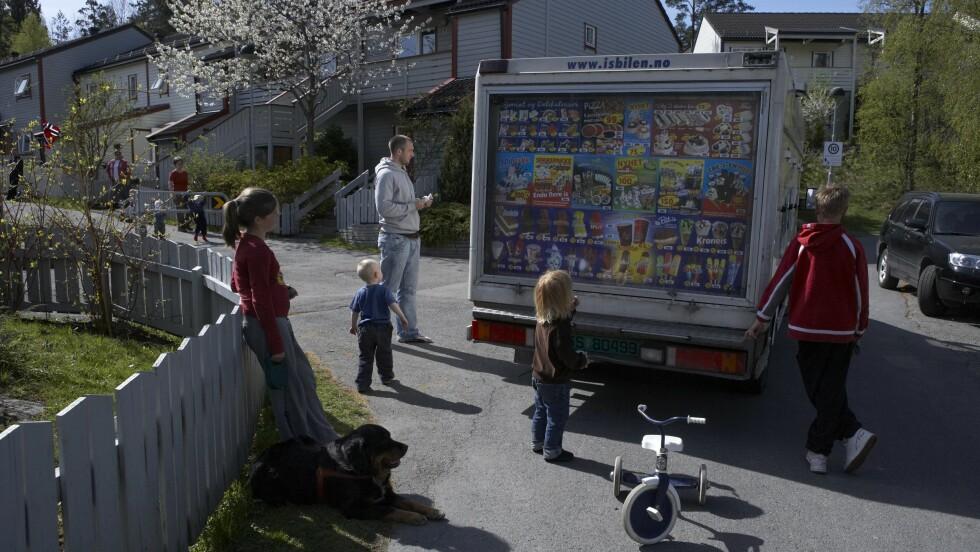 ISBILEN: Har du noen gang lurt på hvorfor Isbilen spiller Norge Rundt-melodien? FOTO: NTB