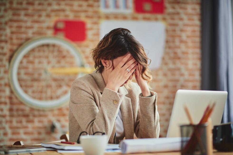 INEFFEKTIV: En ekstrem perfeksjonist vil ikke bare kunne føle på stress og angst, men vil faktisk også være ineffektivt.  Foto: Shutterstock / millann