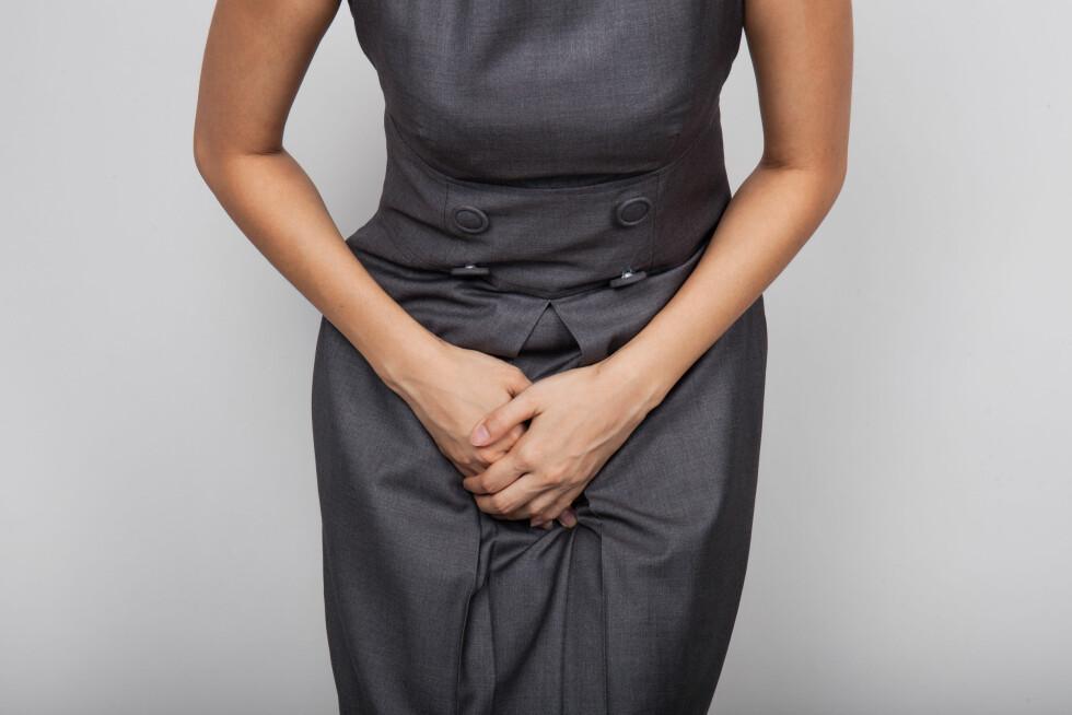 VANLIG PROBLEM: Inkontinens kan ha mange årsaker, og det regnes at mellom 20 til 30 prosent av kvinner sliter med det. Foto: Shutterstock / GongTo