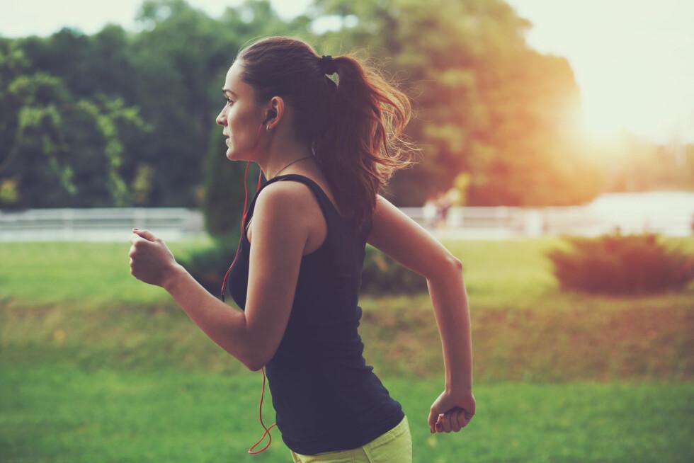 LEKKASJE? Å lekke litt når du gjør noe anstrengende som å trene, nyse, hoste eller le er nok langt mer vanlig enn du tror.  Foto: Shutterstock / A. and I. Kruk