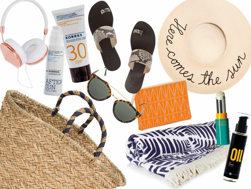Det essensielle sommertilbehøret du MÅ ha i strandvesken din