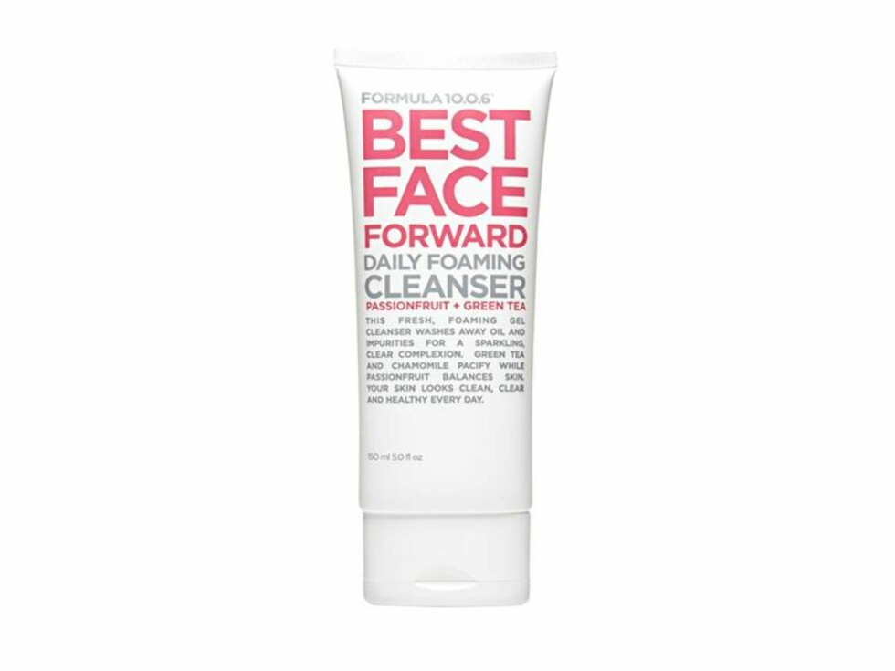 Kvinnene som har anmeldt dette produktet, forteller at den virkelig fjerner alt av sminke og urenheter og at den etterlater huden myk og gir en frisk følelse av renhet.  Foto: Blivakker