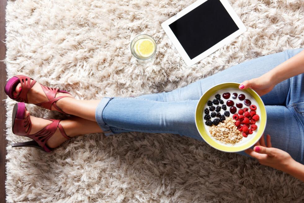SPIS OFTE: Husk å spis både frokost, lunsj, mellommåltid og middag. Foto: Shutterstock / Imcsike