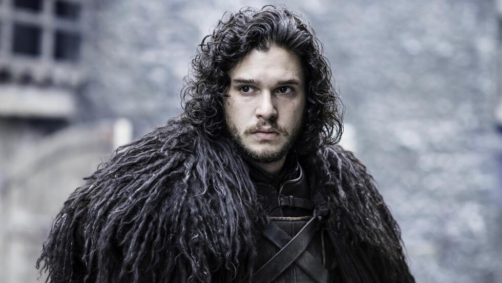 «GAME OF SNOW»: Det er ingen av «Game of Thrones»-skuespillerne som har fått like mye oppmerksomhet som Kit Harington (29), karakteren Jon Snow - og det med god grunn! Foto: HBO