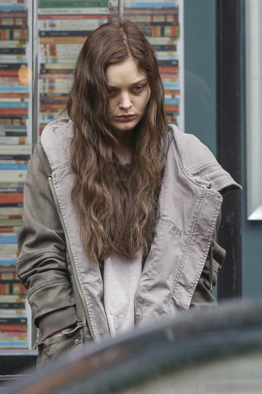 DEN ANDRE KVINNEN: Bella Heathcote, har fått rollen som Leila Williams, som er tidligere dama til Christian.  Foto: Splash News