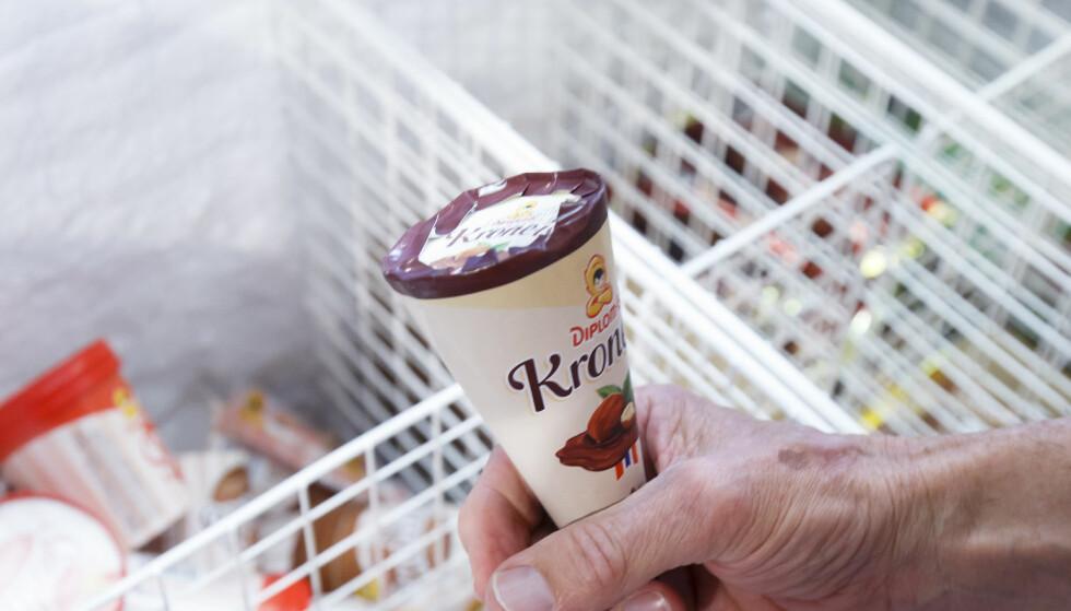 Derfor er det sjokolade i bunnen av Krone-isen
