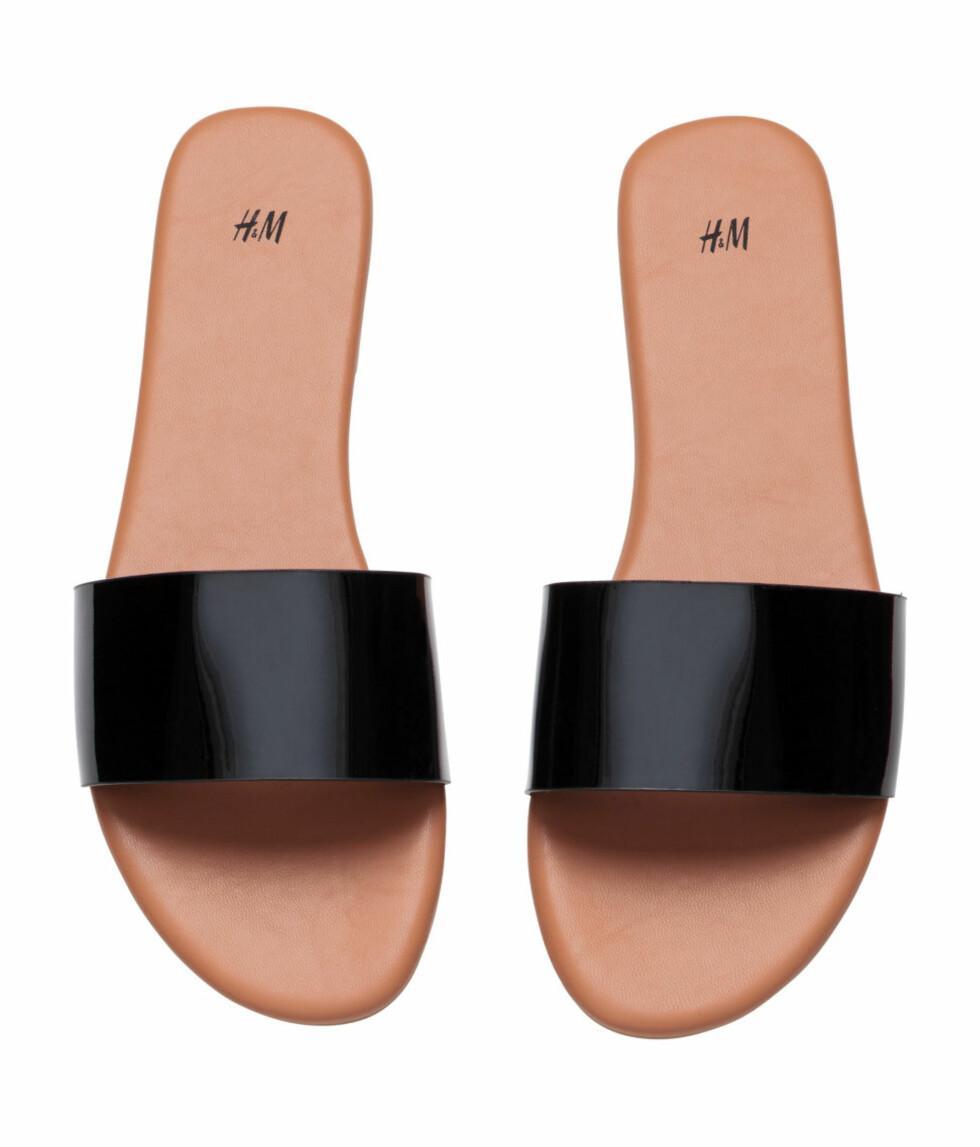 Sandaler fra H&M, kr 99. Foto: Produsenten