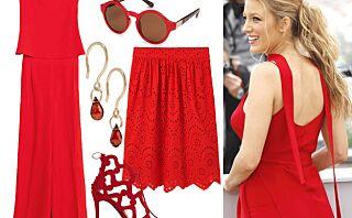 Lady In Red! Disse plaggene gjør sommerstilen både sexy og søt