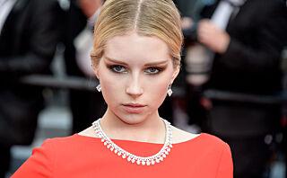 Lottie Moss (18) stjal rampelyset fra sin kjente storesøster Kate Moss i Cannes