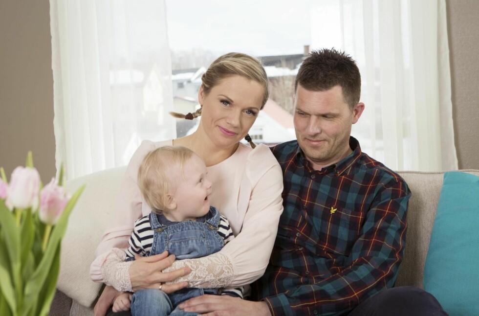 GIFTEKLARE: I 2013 møtte Kristin forloveden David og flyttet til Lillehammer. Til høsten skal paret gifte seg. – Vi gleder oss veldig. Foto: Ellen Jarli