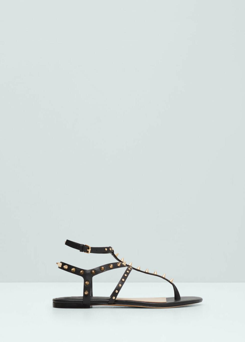 Sandaler fra Mango, kr 399. Foto: Produsenten