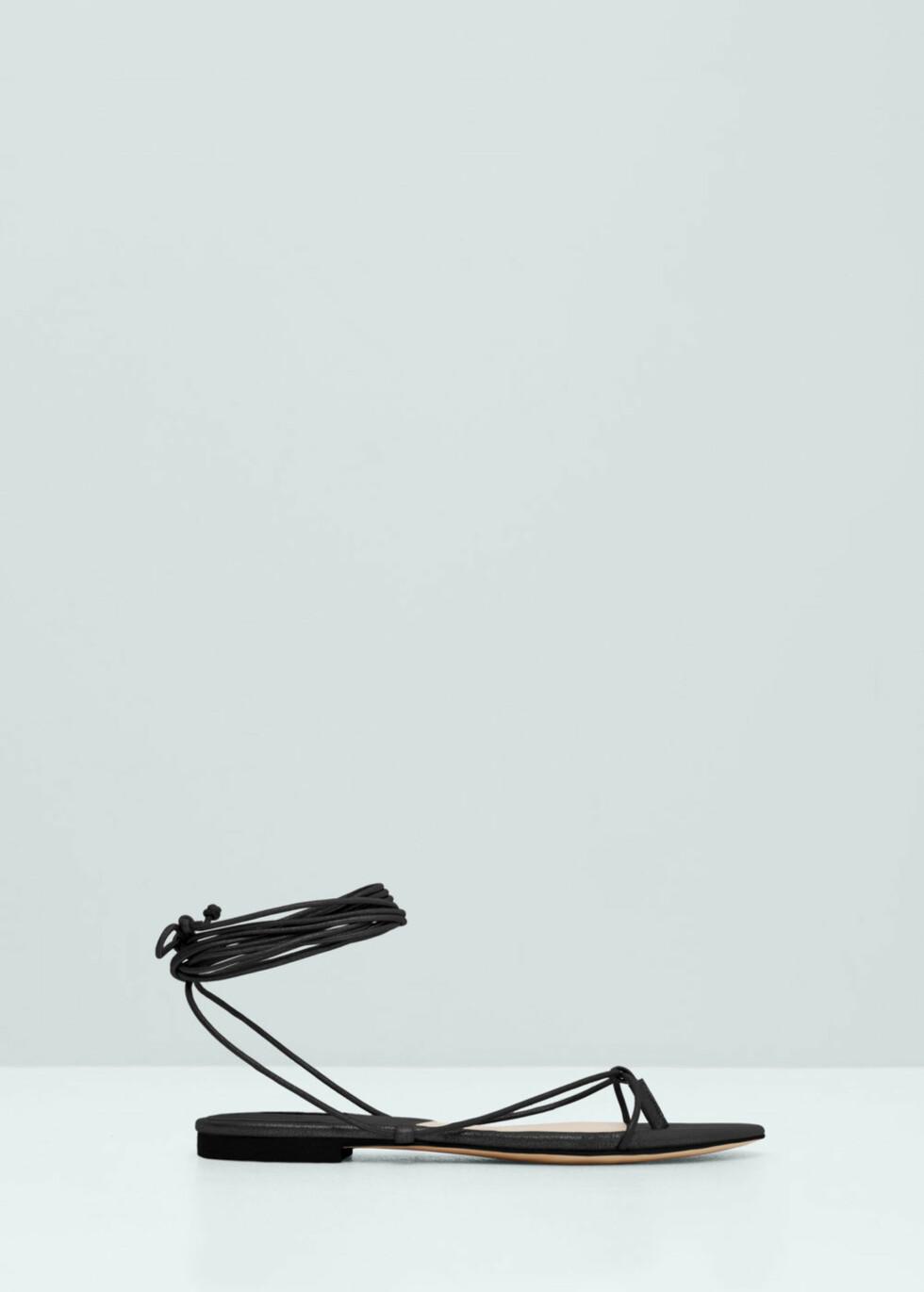 Sandaler fra Mango, kr 249. Foto: Produsenten