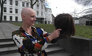Kari Mette (34) var bare 7 år da hun mistet håret for første gang