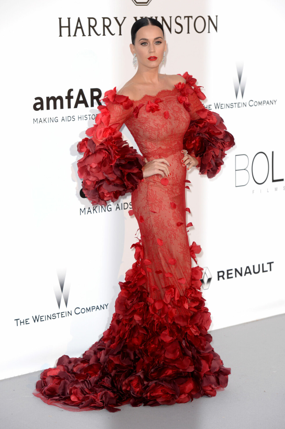 AMFAR 2016: Katy Perry. Foto: Pa Photos