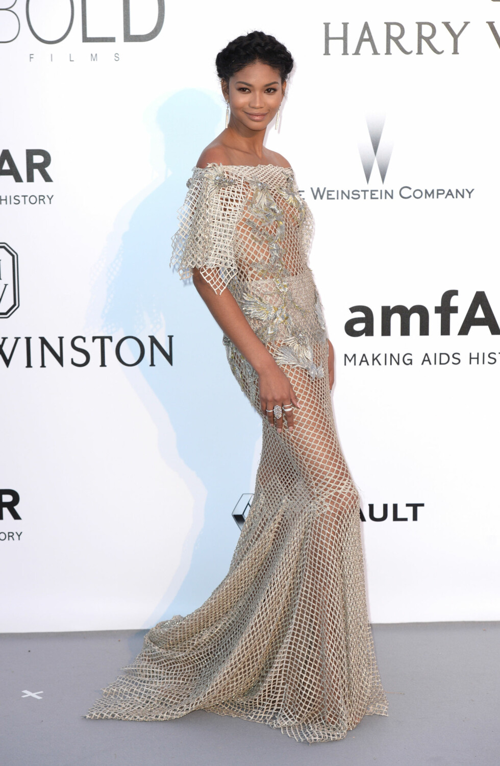 AMFAR 2016: Chanel Iman. Foto: Pa Photos
