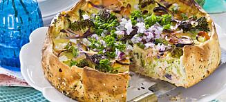 #Fisketirsdag: Brokkolipai med ost og laks