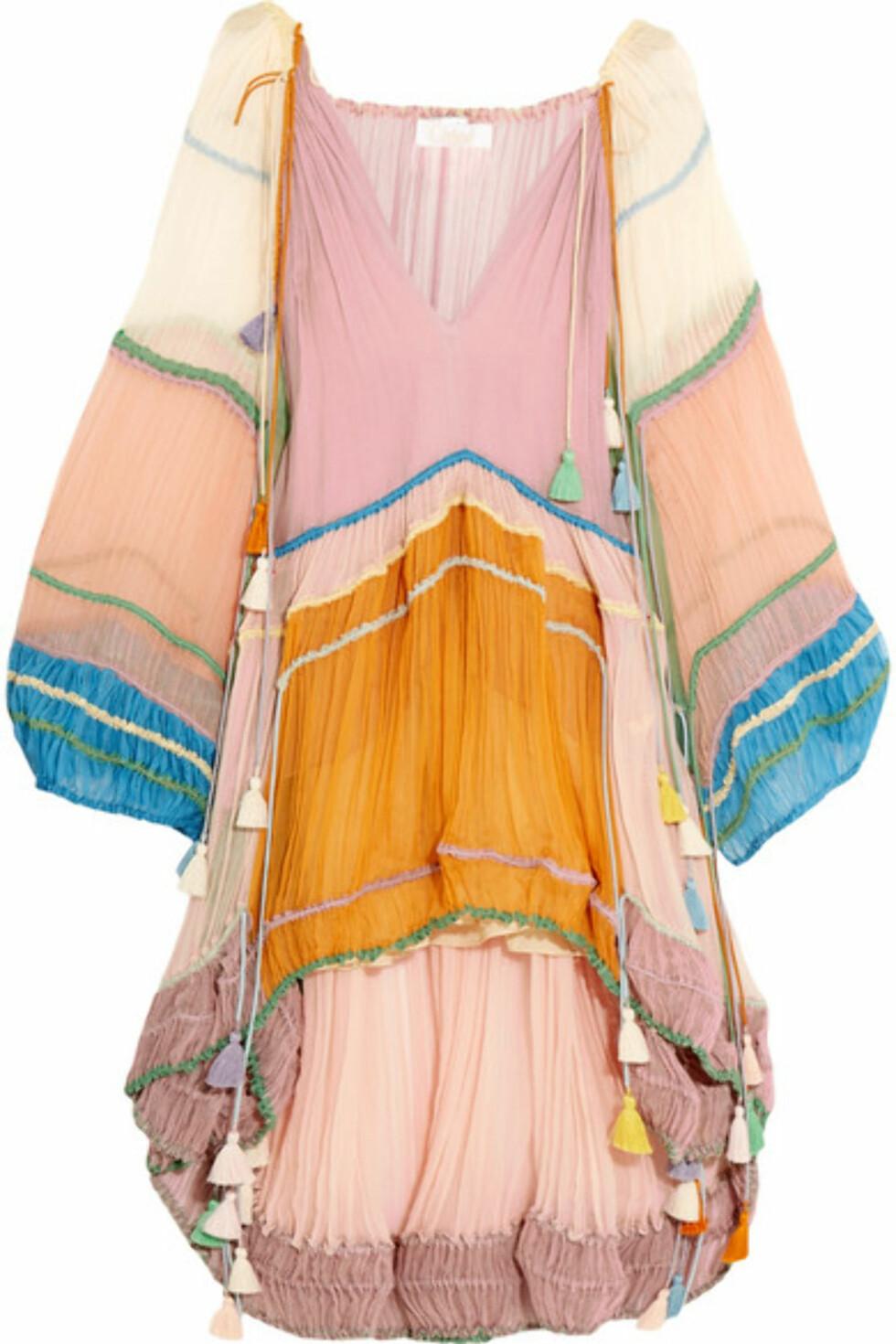 Kjole fra Chloe via Net-a-porter.com, kr 82.492. Foto: Net-a-porter.com