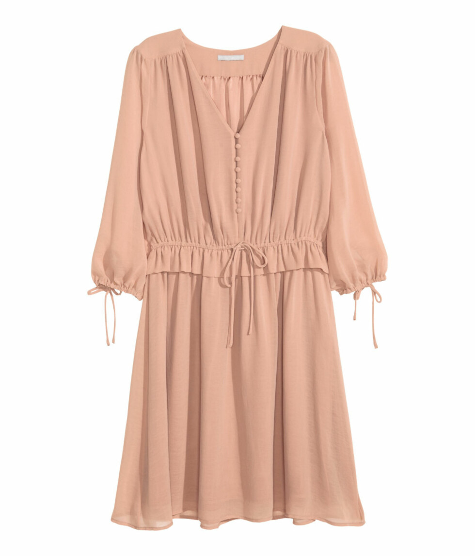 Kjole fra H&M, kr 349. Foto: Produsenten